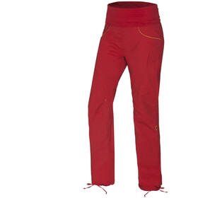 Ocun Noya broek Dames, red/yellow